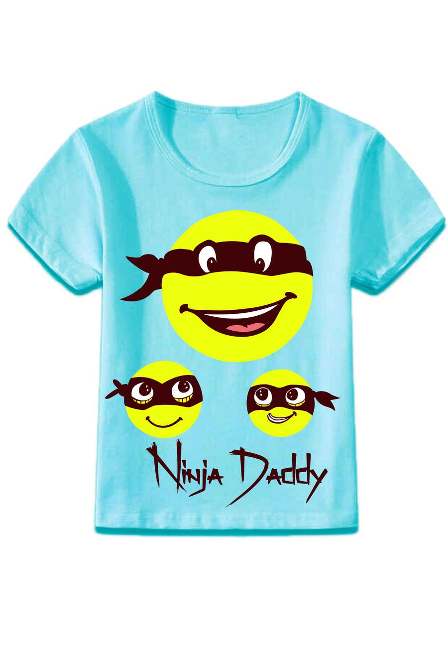 Proposition n°14 du concours Ninja Daddy Graphic Design
