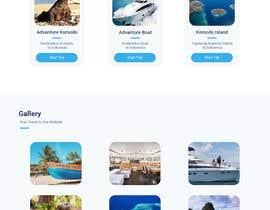 nº 5 pour Komodo Adventures landing page par Pinem22