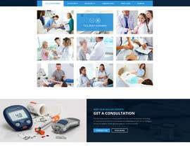 nº 3 pour Design a Website Mockup for Medicine research field par anantomamun90