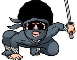 nº 2 pour Ninja vector design project par asmakhatun171733