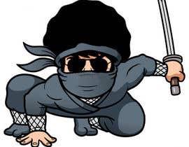 nº 3 pour Ninja vector design project par asmakhatun171733