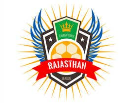 nº 26 pour R-League (Rajasthan's Football League) Logo par daniyal1997