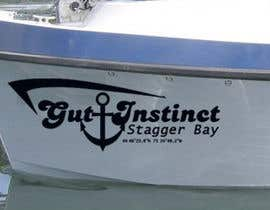 nº 59 pour Boat Name Logo par satbaldev