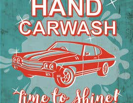 nº 21 pour I need help designing a Sign/banner for a Hand CarWash. par WRST