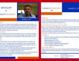 nº 12 pour Design a Flyer - Capability Statement par mdmanzurul