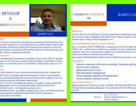 nº 13 pour Design a Flyer - Capability Statement par mdmanzurul