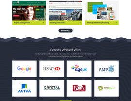 nº 6 pour Design a Website Homepage for Marketing and Digital Company par pixelwebplanet