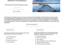 #63 untuk Website Design for First InfoSource oleh rana60