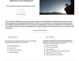 #66 untuk Website Design for First InfoSource oleh rana60