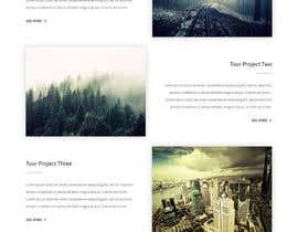 nº 10 pour Design a Website Mockup -- 2 par RukonAhmed
