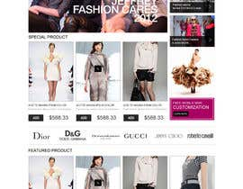 #32 pentru Website Design for fashion business de către scriptmindz