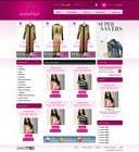 Website Design for fashion business için Graphic Design9 No.lu Yarışma Girdisi