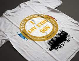 nº 40 pour Design a T-Shirt_ilovethe90s par FARUKTRB