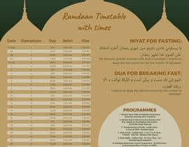 nº 4 pour Design a Ramadaan Calendar par AyazAhemadKadri