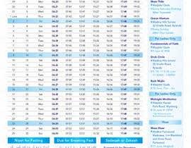 nº 15 pour Design a Ramadaan Calendar par Flywithstyle