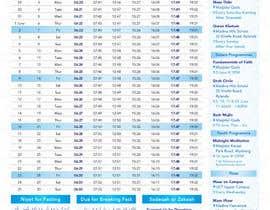 nº 17 pour Design a Ramadaan Calendar par Flywithstyle