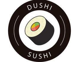 nº 9 pour Dushi Dubai Sushi Logo par carlosbc1990
