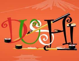 nº 8 pour Dushi Dubai Sushi Logo par mohammedabubakr1