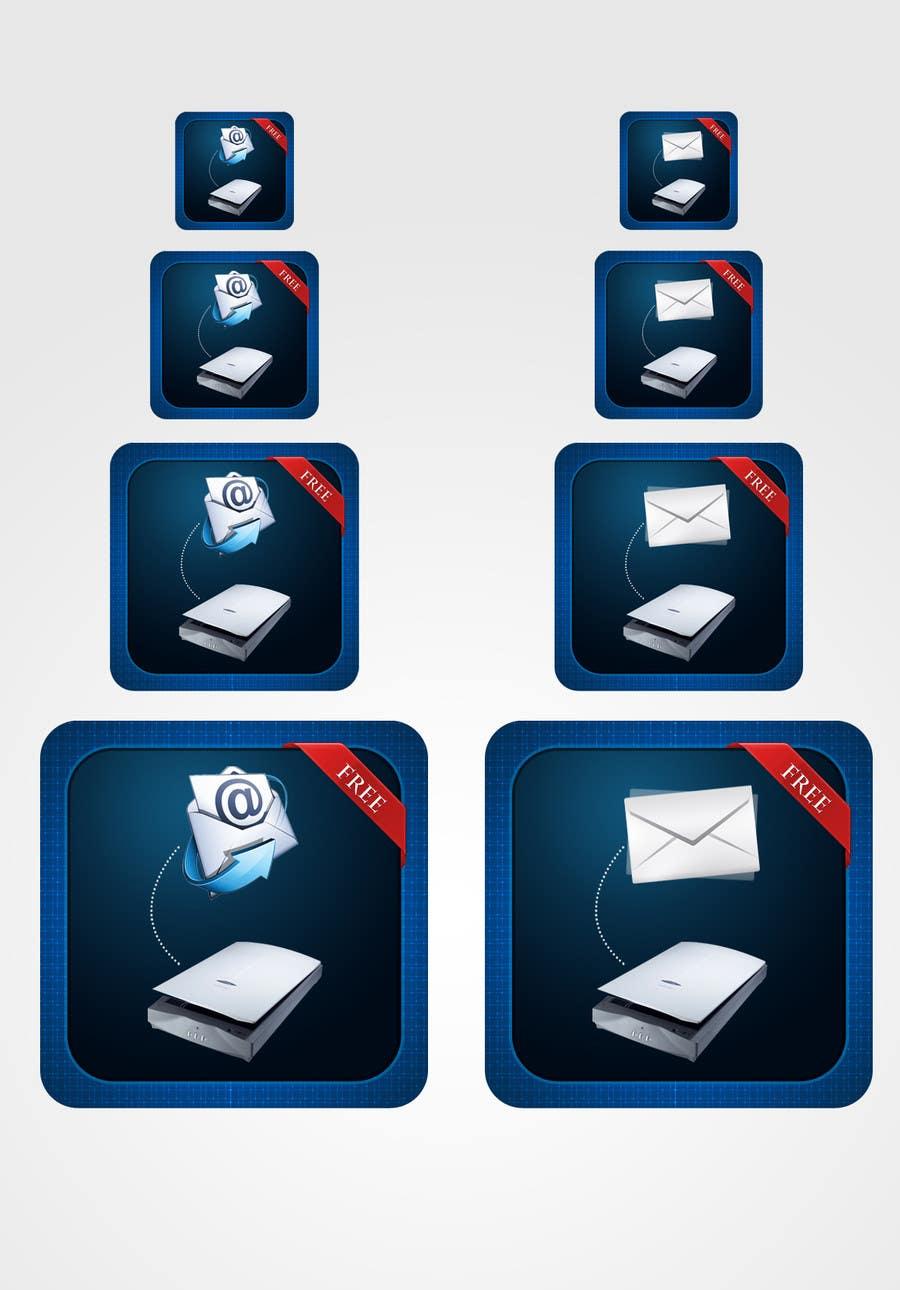 Bài tham dự cuộc thi #                                        97                                      cho                                         Icon Design for a Document Scanner Phone App