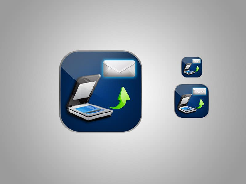 Bài tham dự cuộc thi #                                        92                                      cho                                         Icon Design for a Document Scanner Phone App