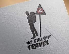nº 37 pour Design No Bullshit Travel a Logo par NemanjaStupar