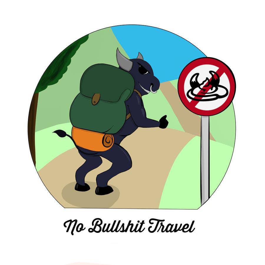 Proposition n°2 du concours Design No Bullshit Travel a Logo