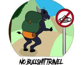 nº 36 pour Design No Bullshit Travel a Logo par cjmcgarry