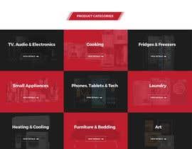nº 45 pour Design website - homepage and generic product page par surajit666