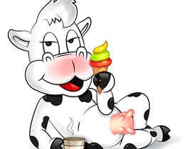 nº 17 pour Modify Illustration of Cow Ice Cream Mascot par satherghoees1