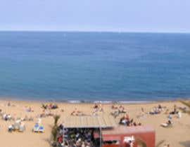 nº 3 pour Design Panorama from 5  Pics (2004) of Barcelona BeachFront  for Print on Alu Dibond par shinodem123