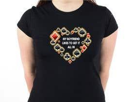 nº 11 pour Poker T-Shirt   -   All-in par armamun2021