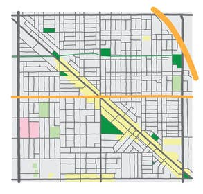 Image of                             Need Vector Map / Wicker Park, C...