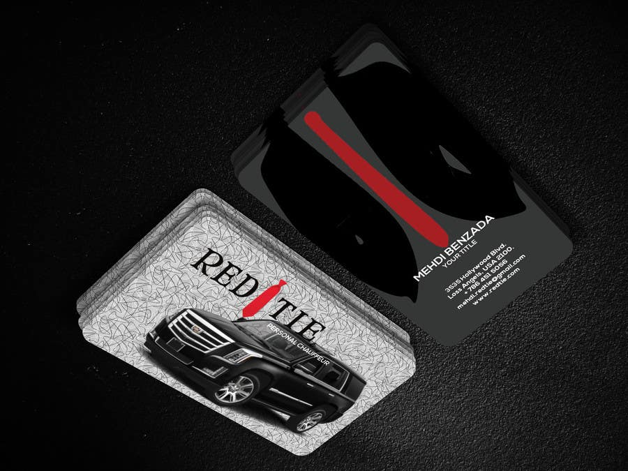 Entry #7 by sujatasuja for Chauffeur business card   Freelancer