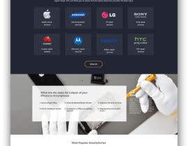 nº 4 pour Design a Website Mockup par ByteZappers