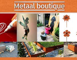 nº 7 pour Facebookheader Metaal boutique par ShinTeh