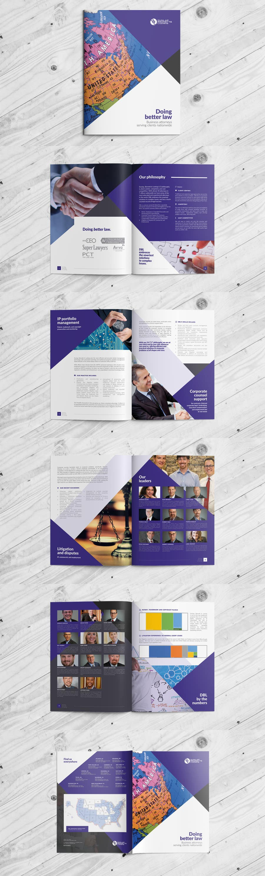 Contest Entry #49 For Law Firm Brochure/ Pitch Book Design Project