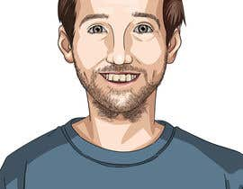 nº 26 pour Create a cartoon/illustrated image of me for use as an online avatar par kamuioscuro