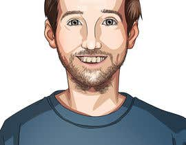 nº 29 pour Create a cartoon/illustrated image of me for use as an online avatar par kamuioscuro