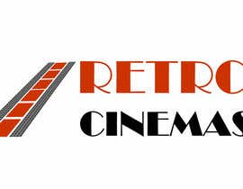 "nº 50 pour Drive in cinema branding called ""Retro Cinemas"" par pavlemati"