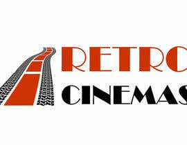 "nº 51 pour Drive in cinema branding called ""Retro Cinemas"" par pavlemati"