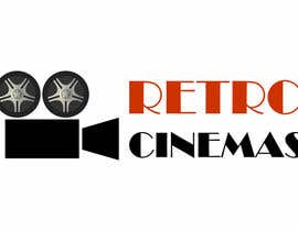 "nº 52 pour Drive in cinema branding called ""Retro Cinemas"" par pavlemati"
