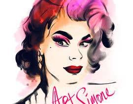 nº 85 pour Design a T-Shirt for a Drag Queen par ArtistRitu