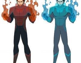 mainimeny tarafından Design a new comic book hero! için no 41