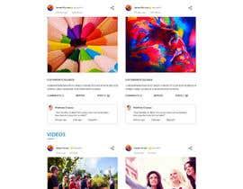 nº 3 pour Design a Website Mockup par aryamaity