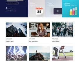 nº 25 pour Design a Website Mockup par nizagen