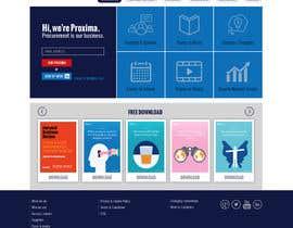 nº 9 pour Design a Website Mockup par sharpBD
