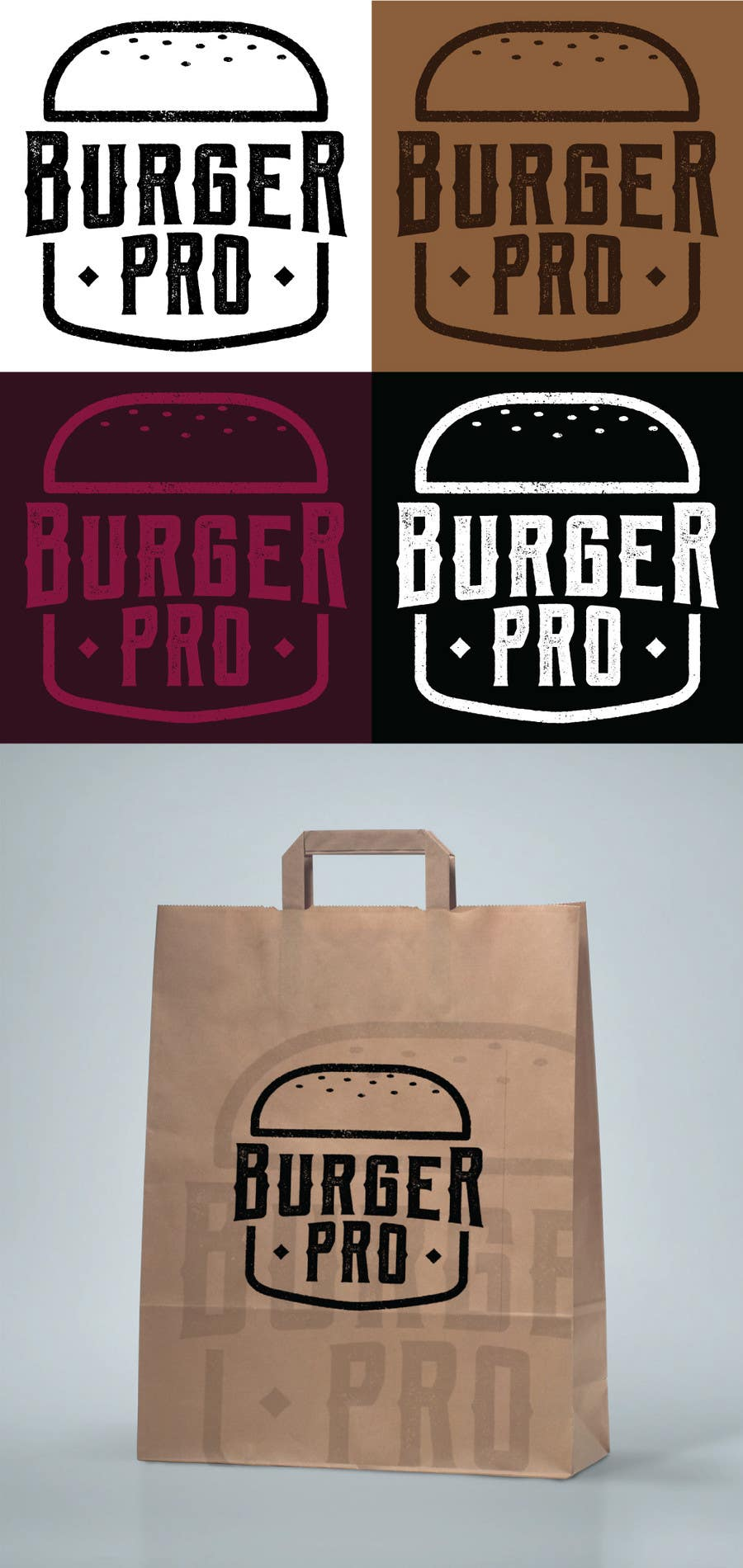 Proposition n°86 du concours Design two Logos for a Burger restaurant