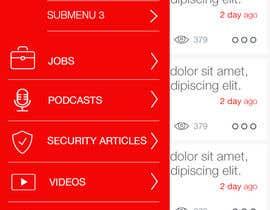 nº 2 pour Design an App Mockup par gangradeankit