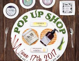 nº 15 pour Pop Up Shop for Vegan, Cruelty Free Makeup and Body Products par frontrrr