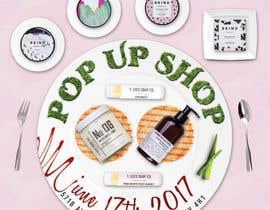 nº 19 pour Pop Up Shop for Vegan, Cruelty Free Makeup and Body Products par frontrrr